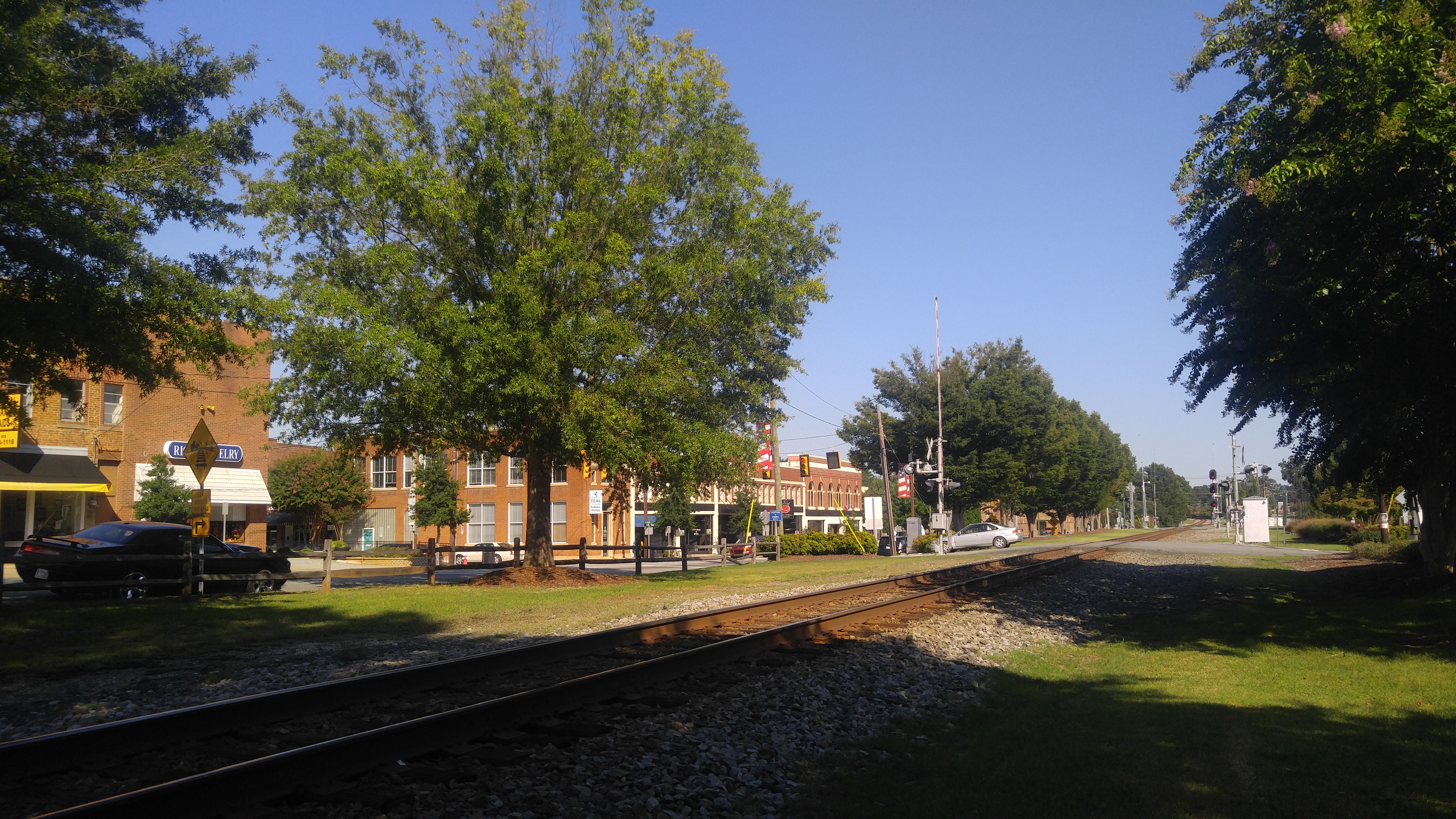 Picturesque Historical Downtown Mebane NC